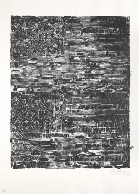 Jasper Johns-Two Flags (Universal Limited Art Editions 121)-1972