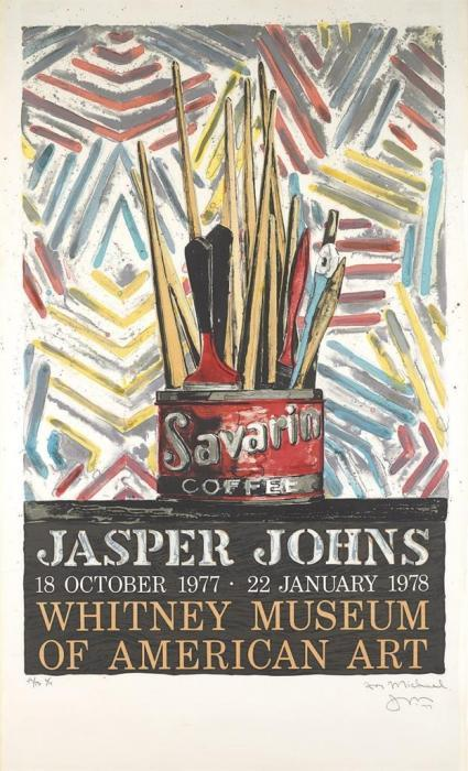Jasper Johns-Savarin (ULAE 184)-1977