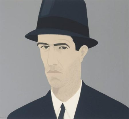 Alex Katz-Passing; Sweatshirt II-1990