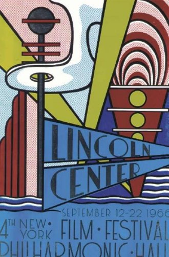 Roy Lichtenstein-Lincoln Center Poster-1966