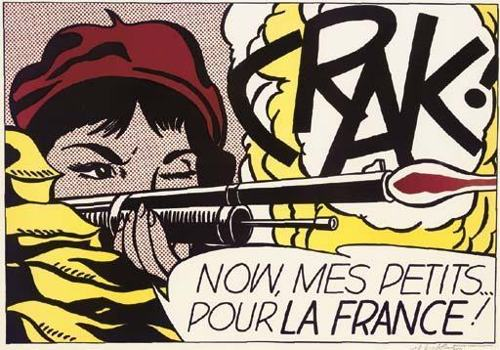 Roy Lichtenstein-Crak !-1964