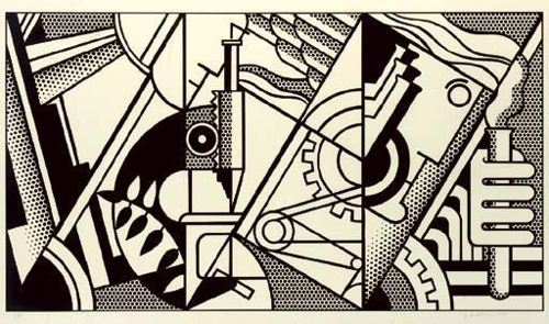 Roy Lichtenstein-Peace through Chemistry III-1970