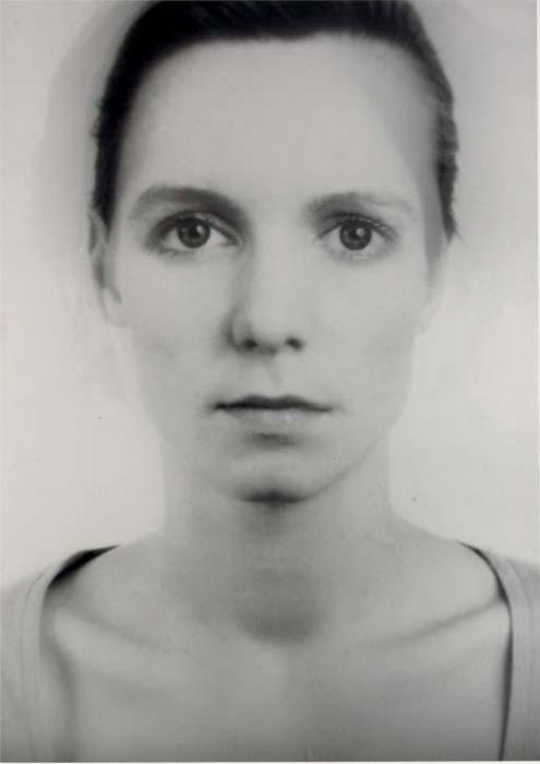 Thomas Ruff-Anderes Portrat Nr.143A/14-1995