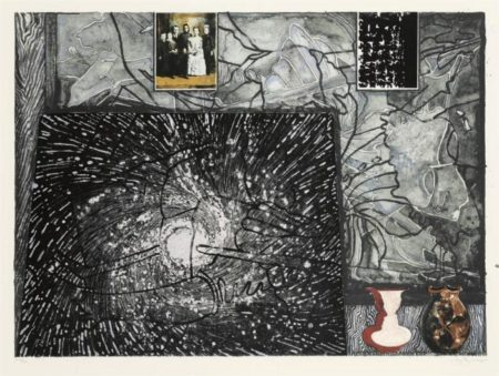 Jasper Johns-Untitled (not in ULAE)-1995
