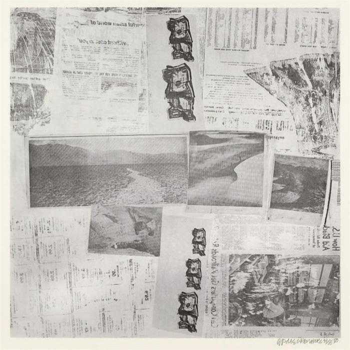 Robert Rauschenberg-Robert Rauschenberg - Features from Currents (Foster 135)-1970