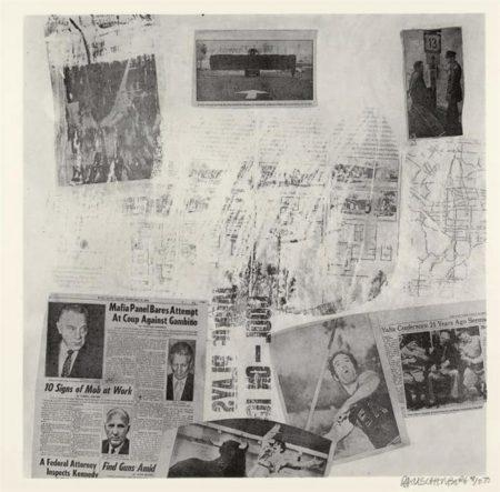 Robert Rauschenberg-Robert Rauschenberg - Features from Currents # 72 (Foster 143)-1970
