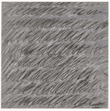 Cy Twombly-Untitled from On the Bowery-1971