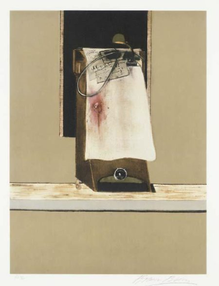 Francis Bacon-Right Panel of Triptych-1988