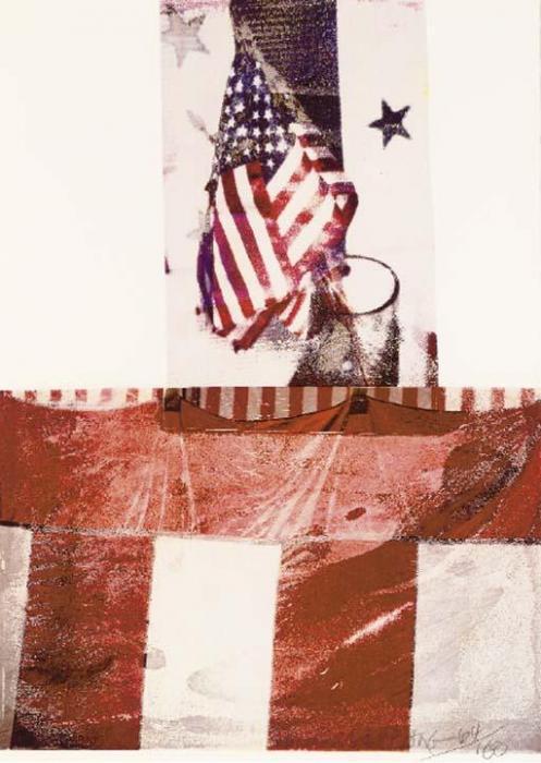 Robert Rauschenberg-Robert Rauschenberg - Kennedy Campaign-1994