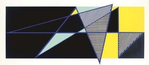 Roy Lichtenstein-Imperfect 44 3/4 x 103-1988