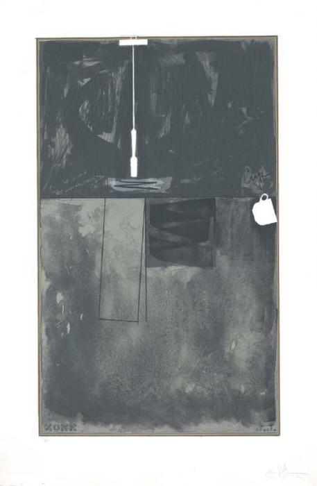 Jasper Johns-Zone (ULAE 105)-1972