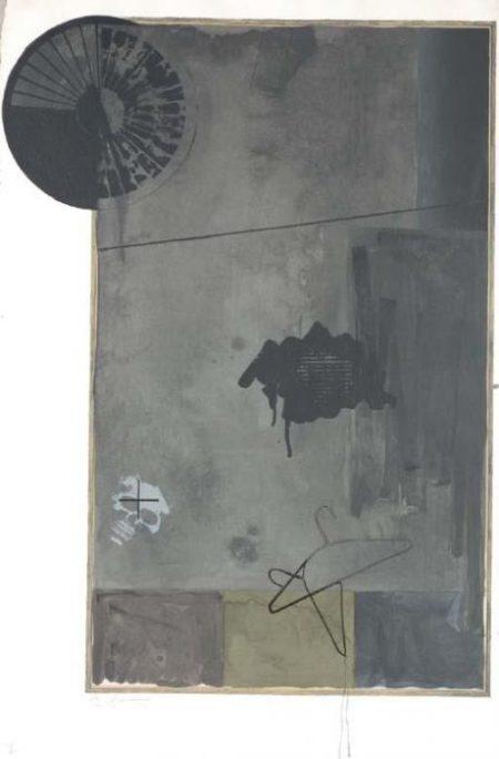 Jasper Johns-Evian (Ulae 115)-1972