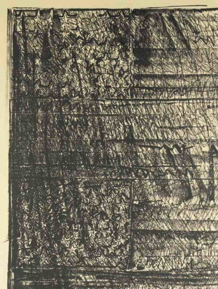 Jasper Johns-Two Flags (ULAE 212)-1980