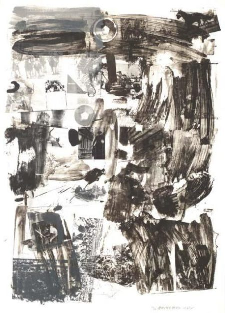 Robert Rauschenberg-Robert Rauschenberg - License-1962