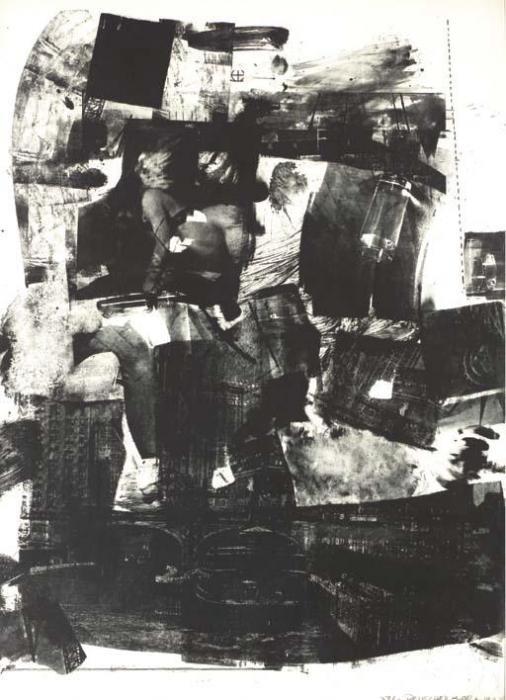 Robert Rauschenberg-Robert Rauschenberg - Kip-Up-1964