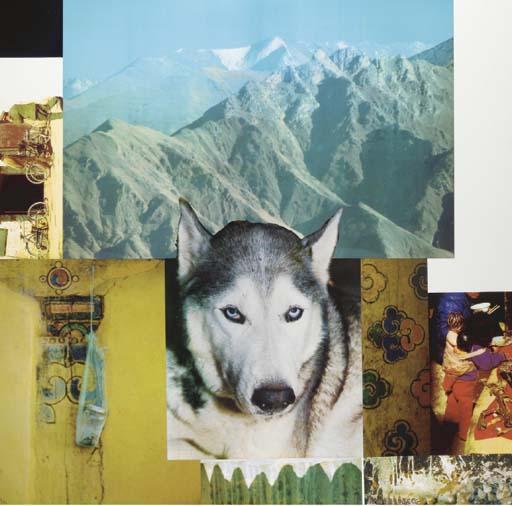 Robert Rauschenberg-Robert Rauschenberg - Tibetan Locks (Mountaineer) (From Tibetan Keys And Locks)-1987