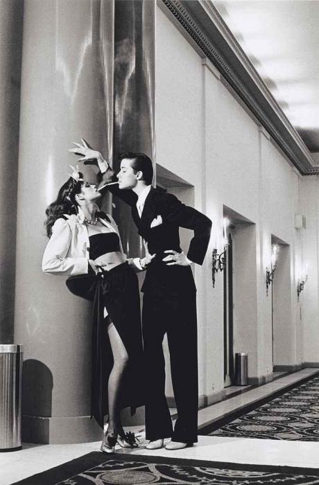 Helmut Newton-Hotel George V, For French Vogue, Paris, 1979-1979