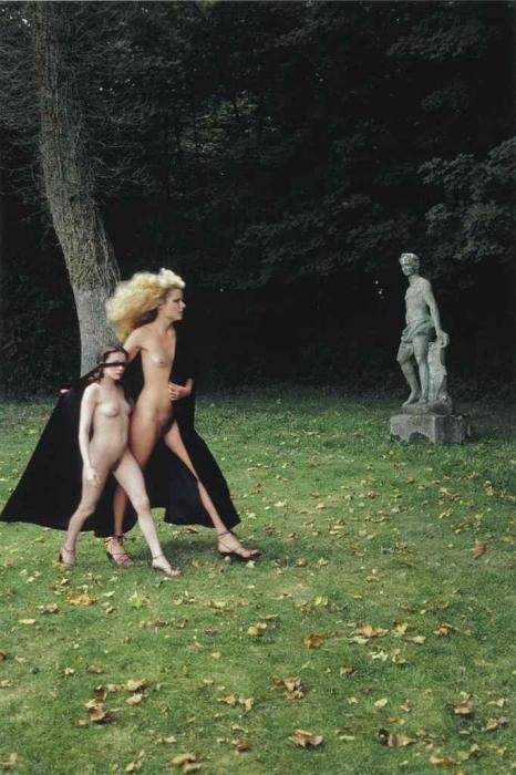 Helmut Newton-Big Lady; Little Lady; Pictorial For 'Playboy'; August 1977-1977