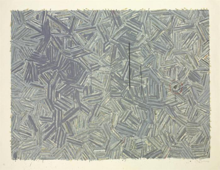 Jasper Johns-The Dutch Wives (ULAE 187)-1977
