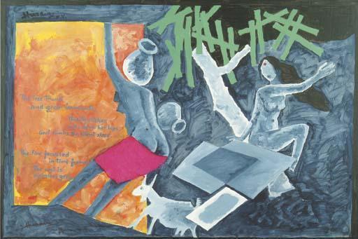 Maqbool Fida Husain-Untitled-1988