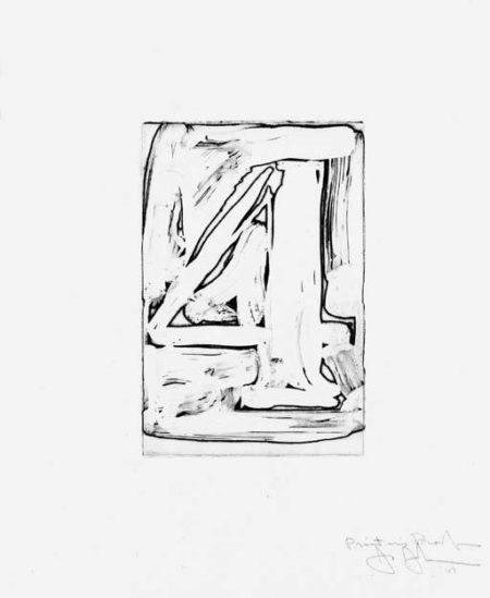 Jasper Johns-Figure 4 (Universal Limited Art Editions 37)-1967