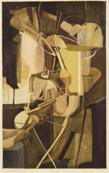 Marcel Duchamp-Mariee (The bride) (Schwartz 433; Ginestet and Pouillon E672) La Mariee Mise A Nu Par Ses Celibataires Meme (schwarz App.30) (1934)-1934