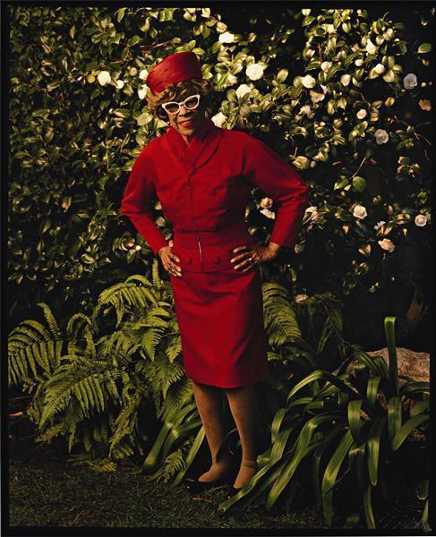 Annie Leibovitz-Ella Fitzgerald, Beverly Hills, California-1988