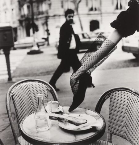 Helmut Newton-Hand In Shoe, Paris (1991)-1991