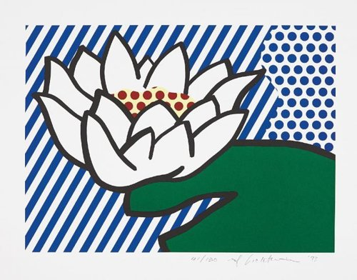 Roy Lichtenstein-Water Lily-1993