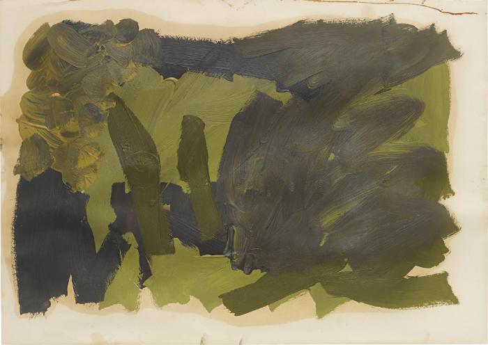 Gerhard Richter-Skizze zu Parkstuck-1971