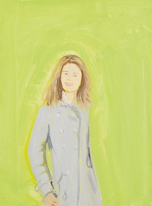Alex Katz-Study of Leig-2005
