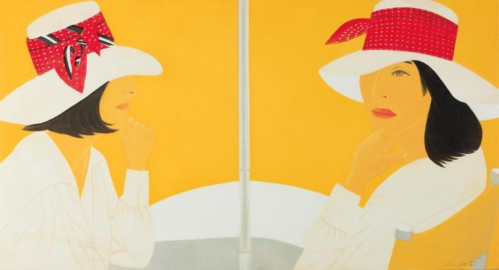 Alex Katz-Red Band-2012