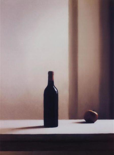 Gerhard Richter-Flasche mit Apfel (Bottle with Apple)-2003