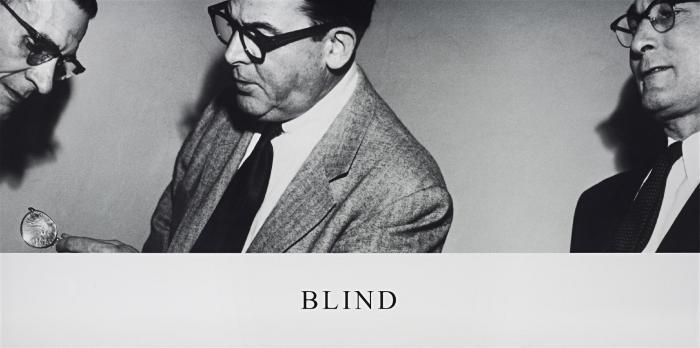 John Baldessari-Horizontal Series: Blind-2003