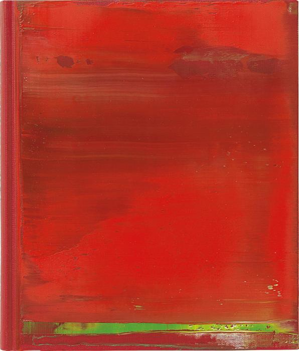 Gerhard Richter-War Cut II-2004