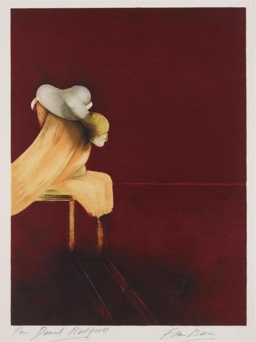 Francis Bacon-Second version of triptych 1944: left panel-1989