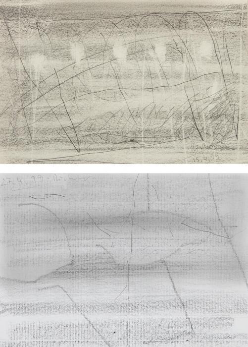 Gerhard Richter-15.4.1999 [99/5]; 27.4.1999 [99/14]-1999