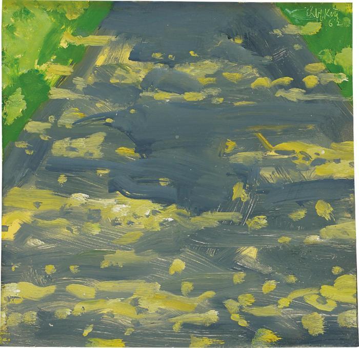 Alex Katz-Black Brook-2002