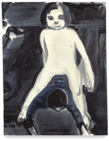 Marlene Dumas-Over Lyken Lopen (Over Dead Bodies)-1993