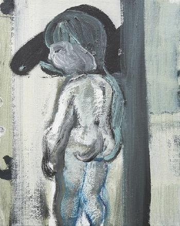 Marlene Dumas-Child with Big-nosed Shadow-1992