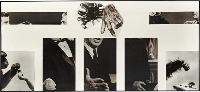 John Baldessari-Space between Glad Hands-1986