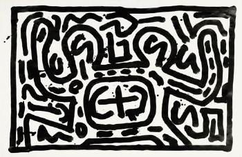 Keith Haring-Keith Haring - Untitled-1981