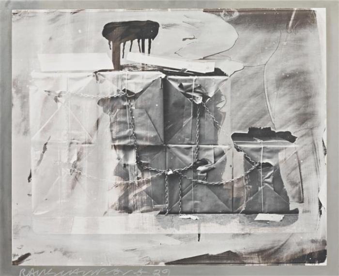 Robert Rauschenberg-Robert Rauschenberg - Untitled (From The Bleacher Series)-1989