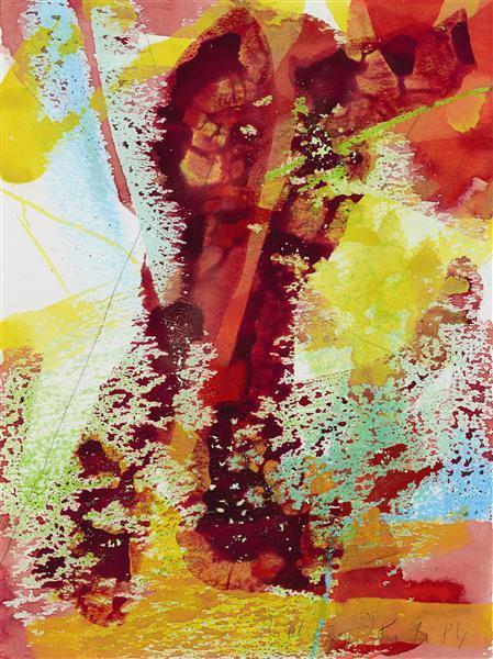 Gerhard Richter-Ohne Titel (28.1.84) / Untitled (28.1.84)-1984