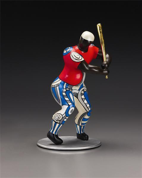 Niki de Saint Phalle-No. 19 Baseball Player-1999