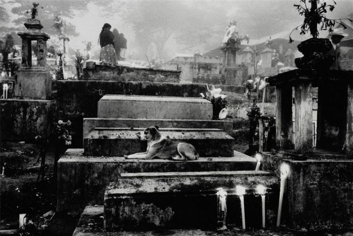 Sebastiao Salgado-Cemetery of the Town of Hualtla de Jimenez, Mexico, from Other Americas (Mexique)-1980