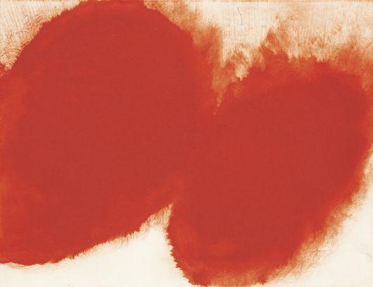 Anish Kapoor-Red Oval Forms / 12 Etchings / Twelve Etchings-2007
