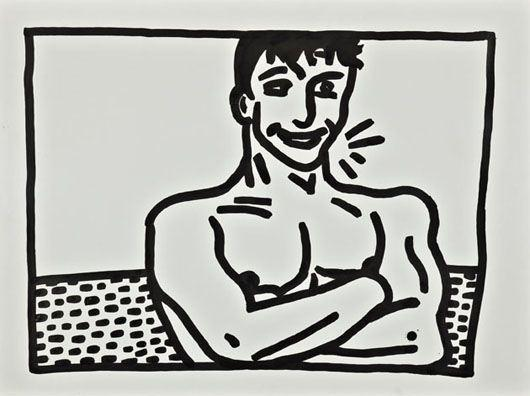 Keith Haring-Keith Haring - Untitled (Smile Boy)-1981