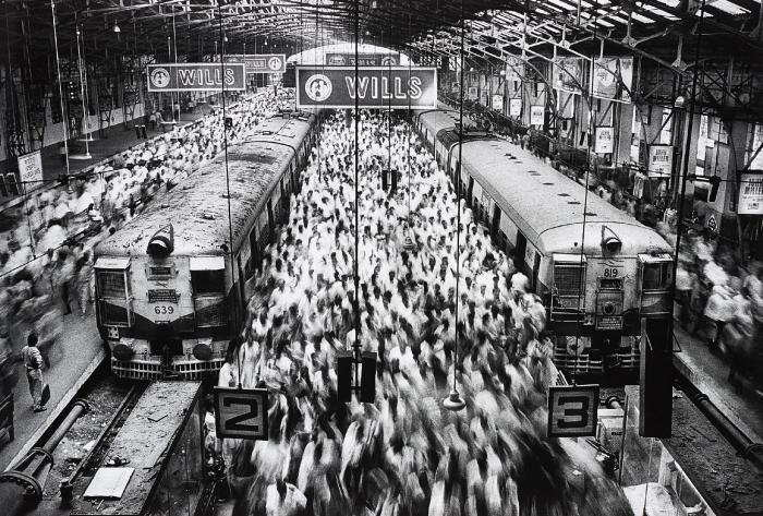 Sebastiao Salgado-Church Gate Station, Western Railroad Line, Bombay, India-1995