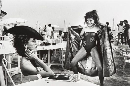 Helmut Newton-Flashing at Cannes Film Festival, Cannes-1981